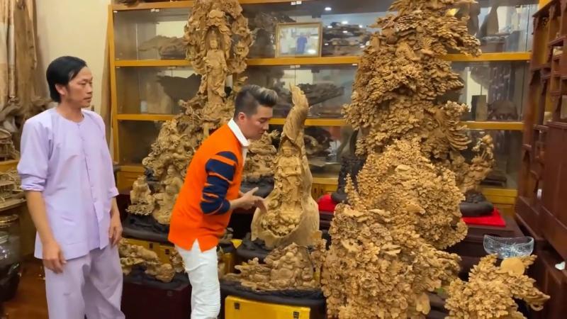 Bộ sưu tập trầm hương trăm tỷ của Hoài Linh thực chất là đồ mượn?-1