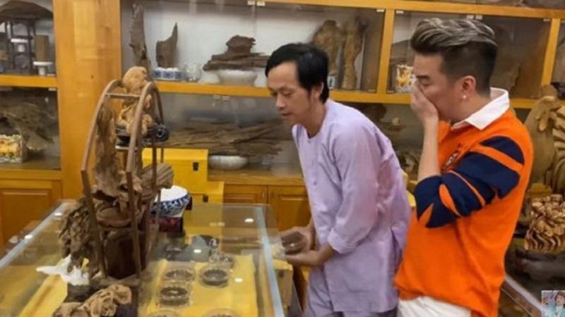 Bộ sưu tập trầm hương trăm tỷ của Hoài Linh thực chất là đồ mượn?-2