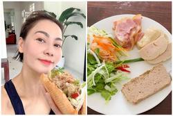 Thu Minh chạy bộ 5 km chỉ để thưởng thức món ăn bình dân