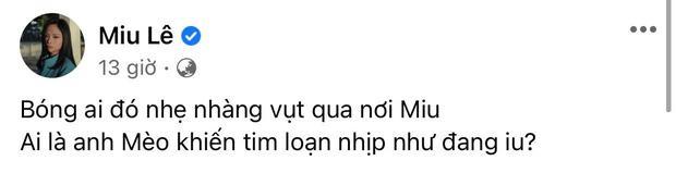 Miu Lê hé lộ tên người tình có chữ A, netizen bóc luôn Karik chính là Khoa-2
