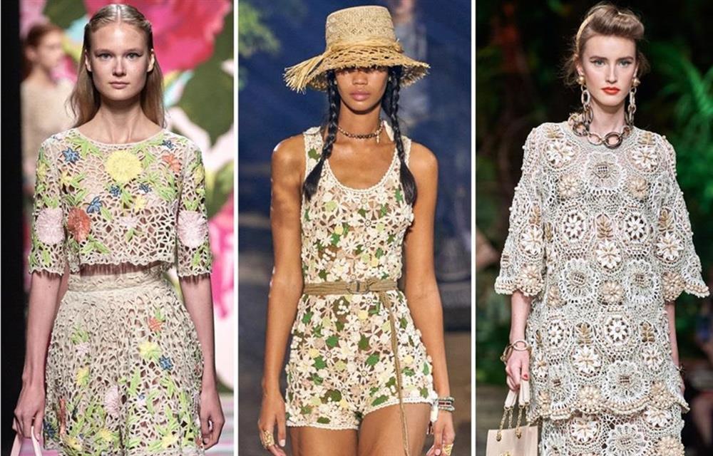 Xu hướng thời trang hè 2021: Sự trở lại của những bộ đồ Crochet-1