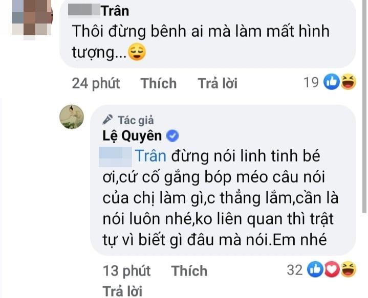 Nghi Lệ Quyên bênh Hoài Linh, dân mạng lập tức sờ gáy-2