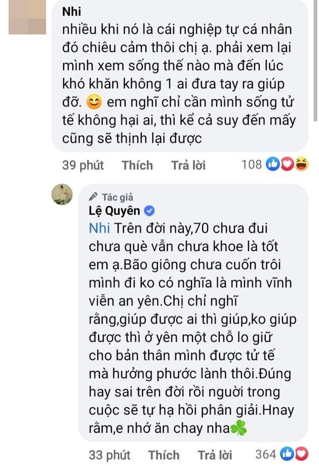 Nghi Lệ Quyên bênh Hoài Linh, dân mạng lập tức sờ gáy-4