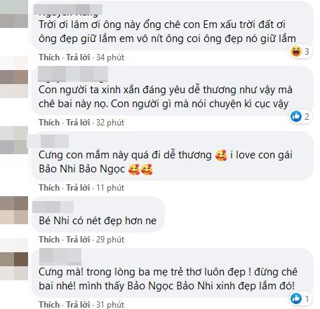 Lê Dương Bảo Lâm nổi đóa khi 2 con gái bị chê xấu đều-2