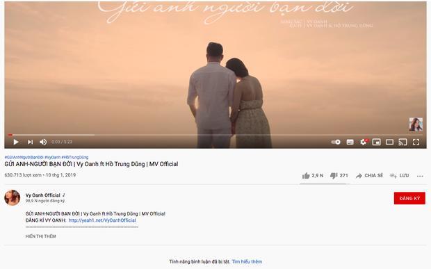 Vy Oanh tắt bình luận kênh Youtube sau status đáp lễ bà Phương Hằng-5