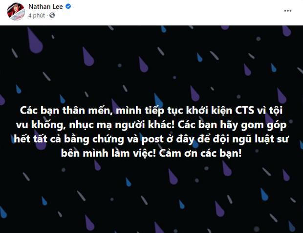 Nguyễn Văn Chung xin Nathan Lee: Đừng kiện nữa, Chung mệt rồi!-1