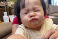 Đàm Thu Trang khoe ảnh con gái 'không thể xấu hơn'