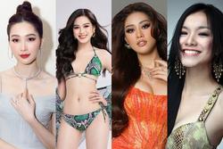 Số đo vòng 1 hoa hậu Việt: Thùy Lâm đầu bảng, xếp bét là cái tên bất ngờ