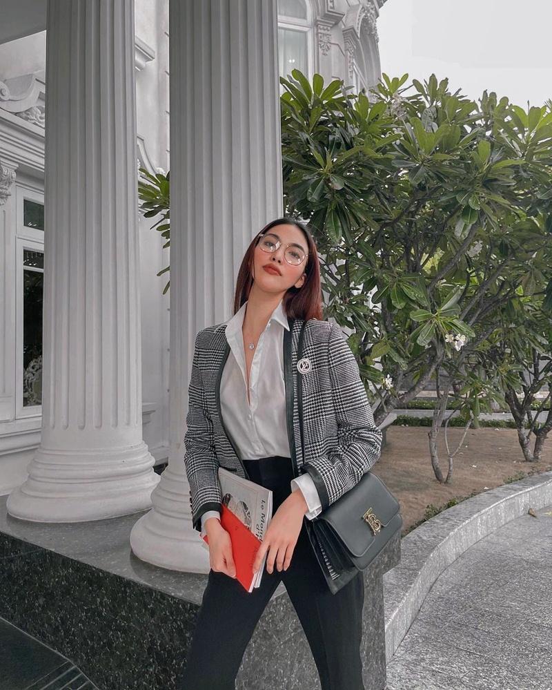Street style đầu tuần: Sao Việt mê mệt sắc hồng cánh sen trendy-4