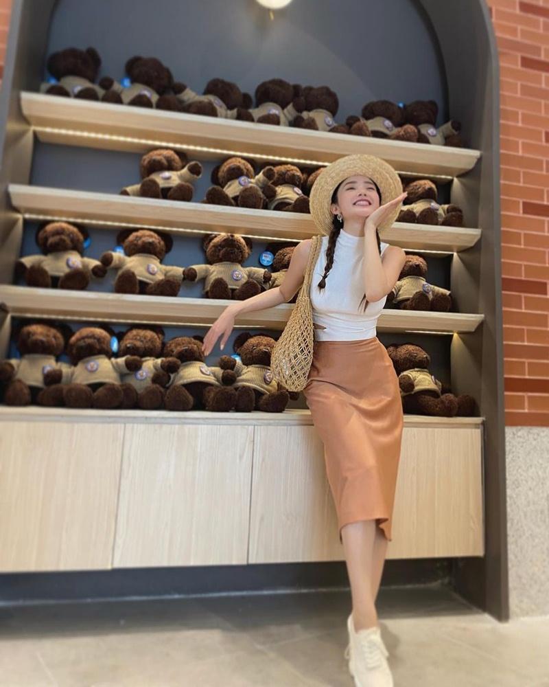 Street style đầu tuần: Sao Việt mê mệt sắc hồng cánh sen trendy-6