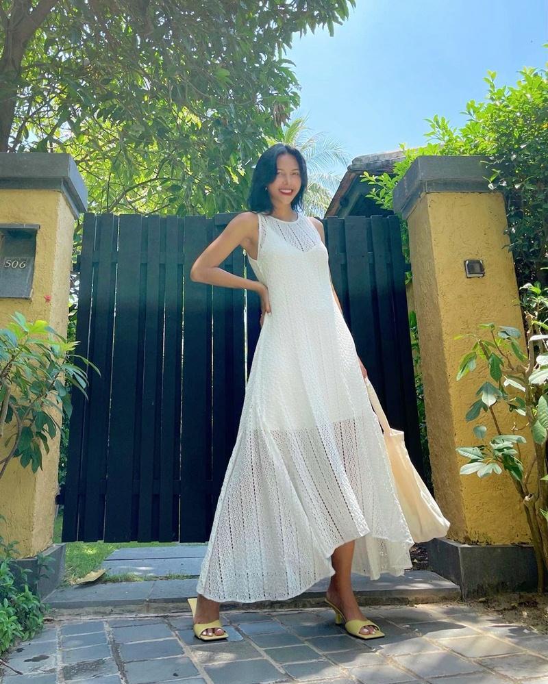 Street style đầu tuần: Sao Việt mê mệt sắc hồng cánh sen trendy-7
