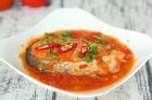Cách làm cá ướp nghệ sốt cà chua