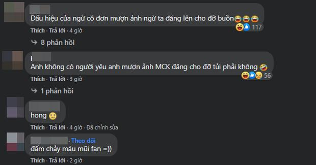 Đăng ảnh MCK và Tlinh, fan khịa Karik không có người yêu nên... gato-3