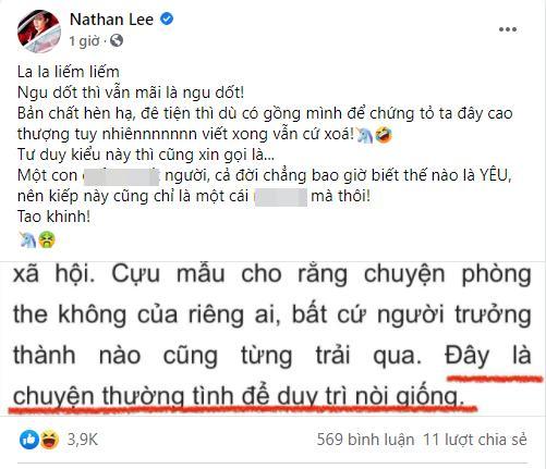 Bàn luận clip nóng, Xuân Lan bị Nathan Lee mắng thậm tệ?-3