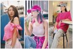 Street style đầu tuần: Sao Việt mê mệt sắc hồng cánh sen trendy