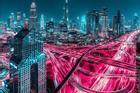 Xứ nhà giàu Dubai khác lạ trong bộ ảnh phơi sáng