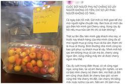 Chồng chỉ dám mua nửa cân cherry cho vợ nhưng lý do đằng sau khiến ai cũng xúc động