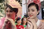 Ái nữ nhà MC Quyền Linh khoe nhan sắc chuẩn Hoa hậu, clip đúng 10s replay mỏi tay-3