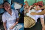 Nắng nóng 40 độ, nhiều nhân viên y tế ngất giữa tâm dịch Covid-19