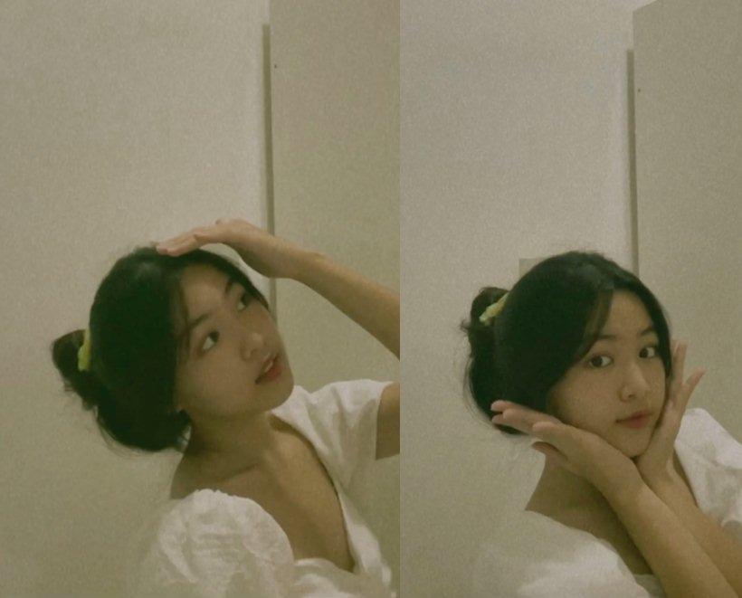 Ái nữ nhà MC Quyền Linh khoe nhan sắc chuẩn Hoa hậu, clip đúng 10s replay mỏi tay-1