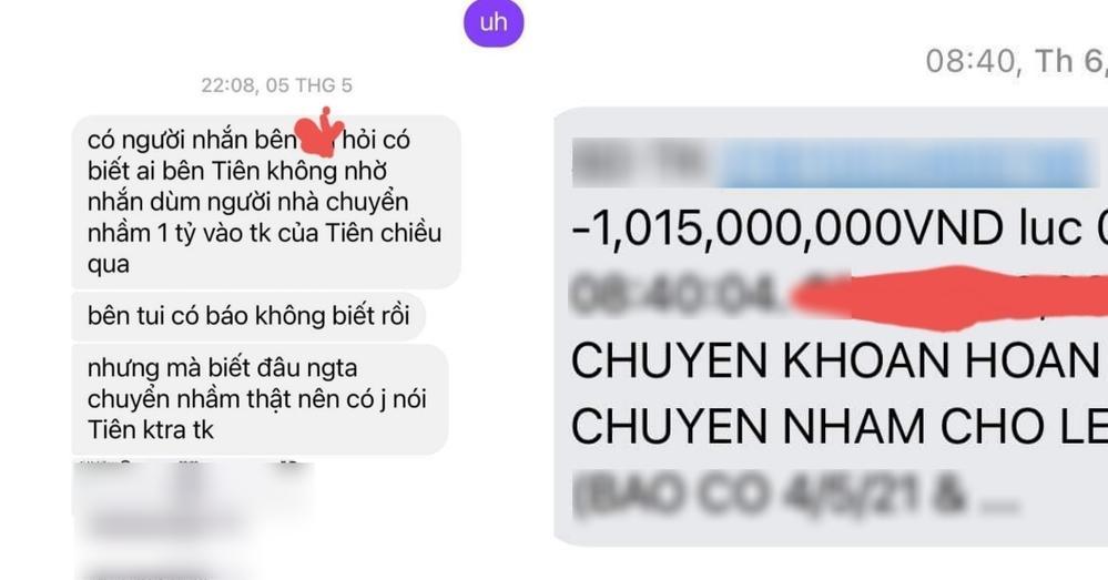 Nguyên nhân số tiền 30 triệu chuyển nhầm cho Thủy Tiên chưa trả lại-4