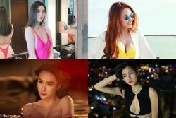 Cảnh nóng bạo liệt của 4 mỹ nhân 'ẩn' showbiz: Chân dài Kiên Giang bị cắt 1/2 cảnh 18+