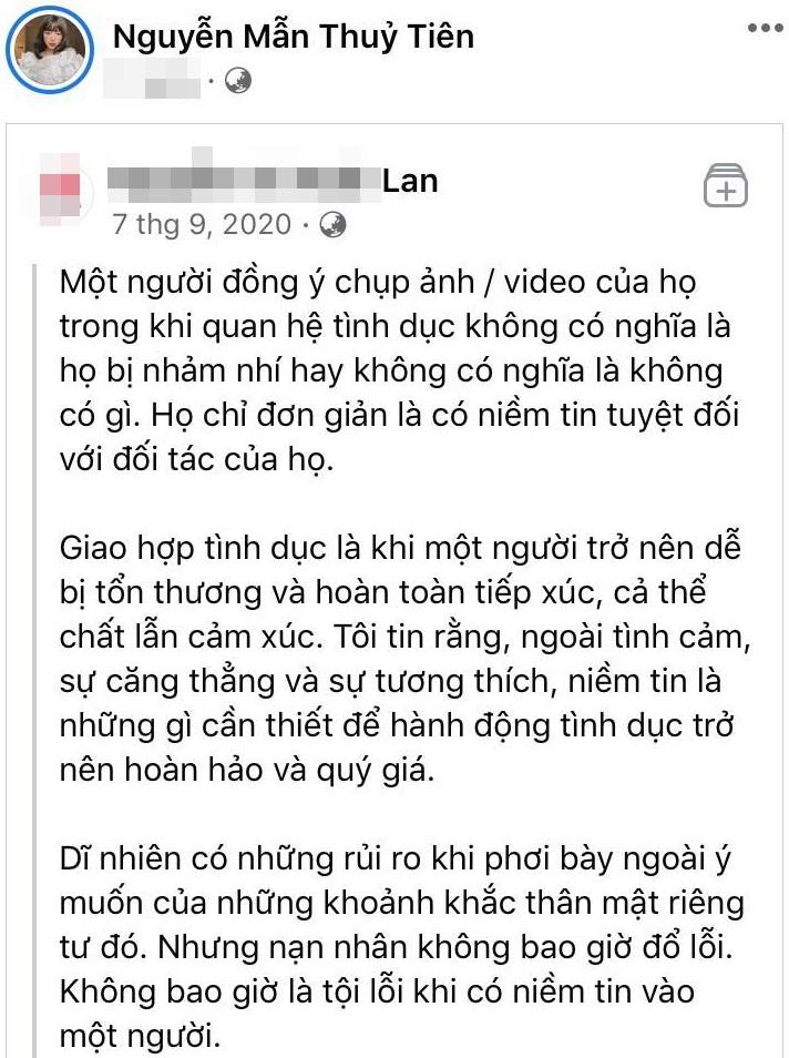 Hot girl gây tranh cãi khi bàn luận clip nóng của diễn viên Về Nhà Đi Con-2