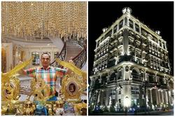 Đại gia 4 vợ, sống trong biệt thự 'khủng' 13 triệu USD đẹp như cung điện