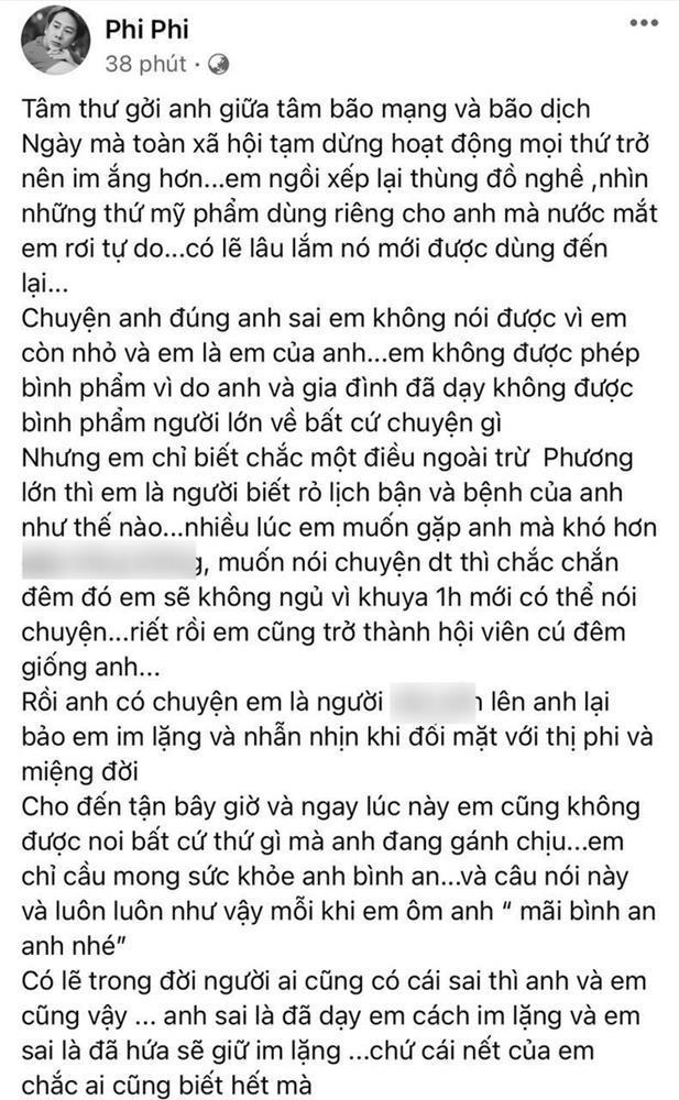 Make up thân cận viết tâm thư gửi Hoài Linh, lời dặn dò khiến dàn sao lo lắng-1