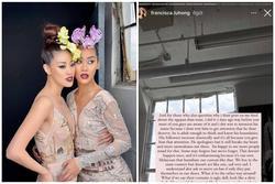 Sau buổi chụp ảnh cùng Khánh Vân, Miss Malaysia 'đăng đàn' khó chịu