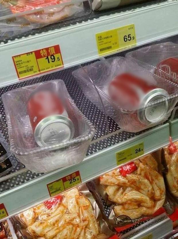 Há hốc mồm với những kiểu đóng gói đồ ăn sai sai của các siêu thị-1