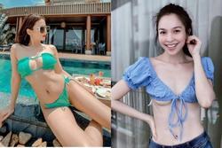 2 chị đẹp U40 của Vbiz 'dậy thì muộn', thu hút bởi nhan sắc như gái đôi mươi