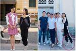 Diệu Nhi tung chiêu 'hack' dáng khi đứng cạnh Hoa hậu Đỗ Thị Hà, fan phì cười