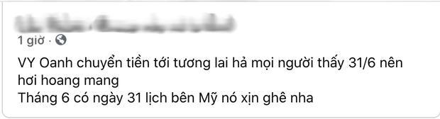 Thực hư Vy Oanh đăng ảnh sao kê từ thiện pha ke và chỉnh sửa nhiều lần-1