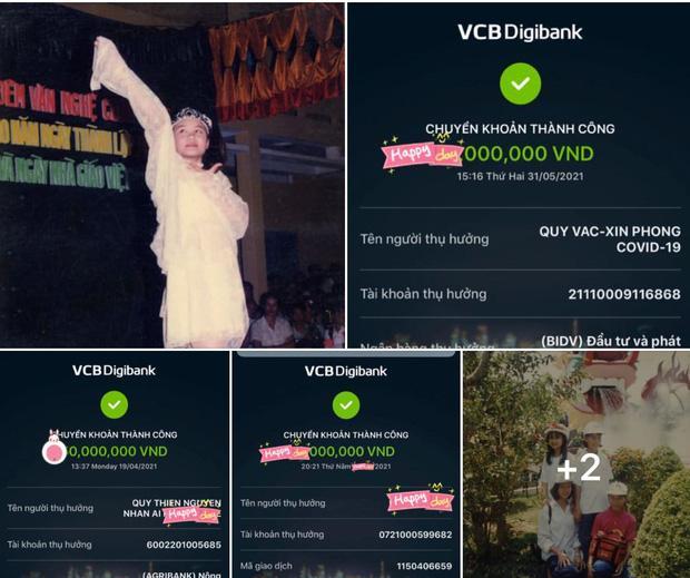 Thực hư Vy Oanh đăng ảnh sao kê từ thiện pha ke và chỉnh sửa nhiều lần-5