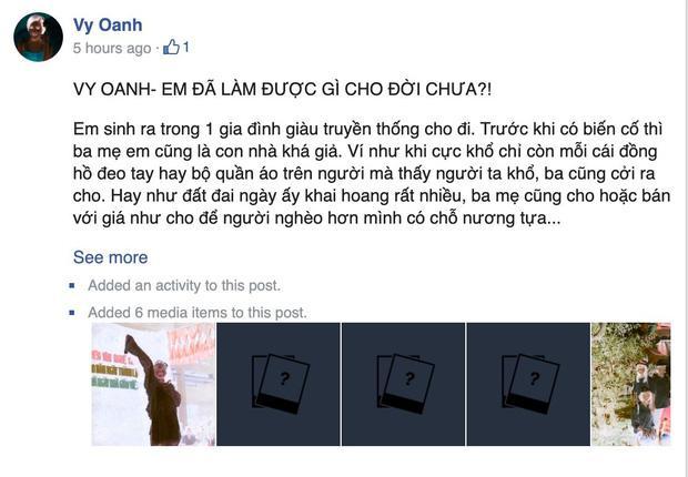 Thực hư Vy Oanh đăng ảnh sao kê từ thiện pha ke và chỉnh sửa nhiều lần-3