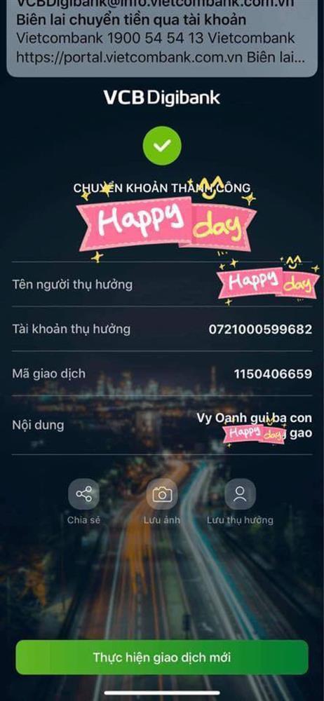 Thực hư Vy Oanh đăng ảnh sao kê từ thiện pha ke và chỉnh sửa nhiều lần-6