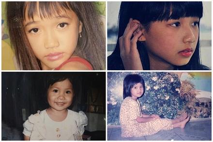 Ảnh thời mini của sao Việt: Vũ Cát Tường bánh bèo ngang ngửa Ngọc Trinh