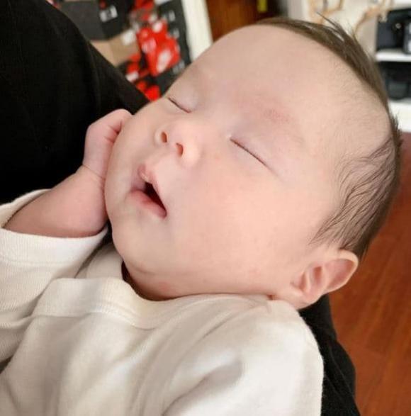 Ngoại hình siêu cấp đáng yêu con gái 5 tháng tuổi của An Nguy-4