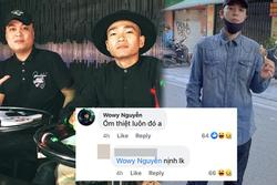 Vừa khen LK mi nhon, Wowy bị netizen mỉa mai: 'Lại nịnh LK à?'