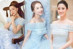 Hòa Minzy 'đụng hàng' Nhã Phương, Lương Thùy Linh: 2 'mẹ bỉm' có lép vế trước Hoa hậu?