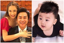 Con trai Hòa Minzy được mẹ dạy hát, có hiểu gì không mà cười như hoa!