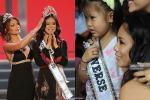 Bé gái Việt đeo dải băng Miss Universe, dân mạng tò mò giờ ở đâu