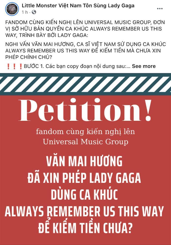 Fan Lady Gaga tố Văn Mai Hương kiếm tiền bẩn từ công sức mẹ quỷ-4