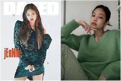 Jennie phối đồ thế nào với tông xanh lá?