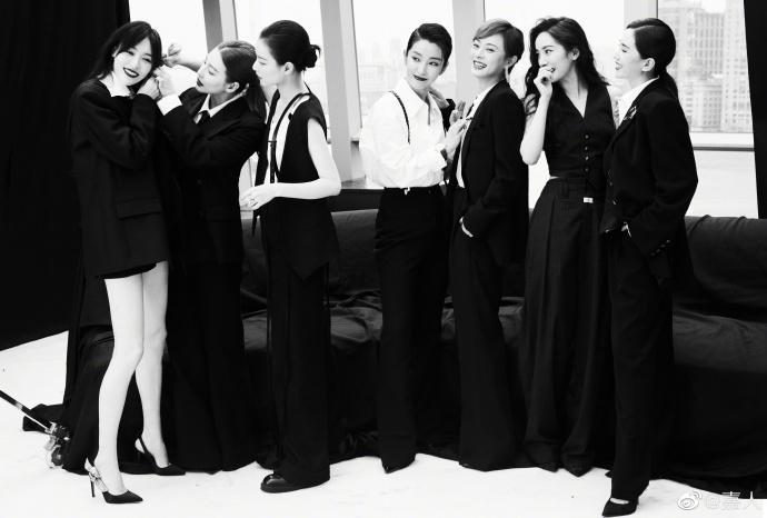 Sự kiện duy nhất ở Cbiz toàn bộ nghệ sĩ nữ đều mặc Suit-3