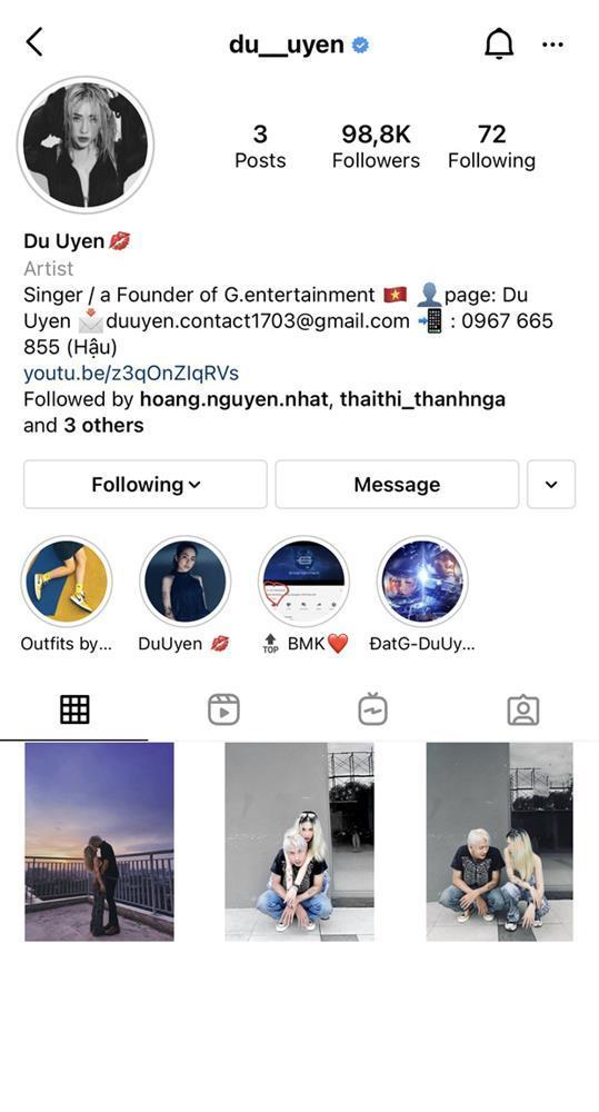 Hậu công khai tình mới, Du Uyên lẫn Đạt G đều thanh lọc Instagram-3