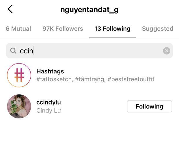 Hậu công khai tình mới, Du Uyên lẫn Đạt G đều thanh lọc Instagram-5