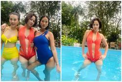 U45 Thu Minh diện áo tắm khoe body nức nở 'cân đẹp' Hoàng Oanh