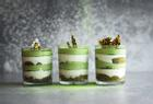 Cách làm món tráng miệng kem tiramisu trà xanh